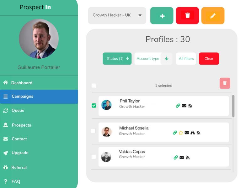 ProspectIn: herramienta de automatización para LinkedIn