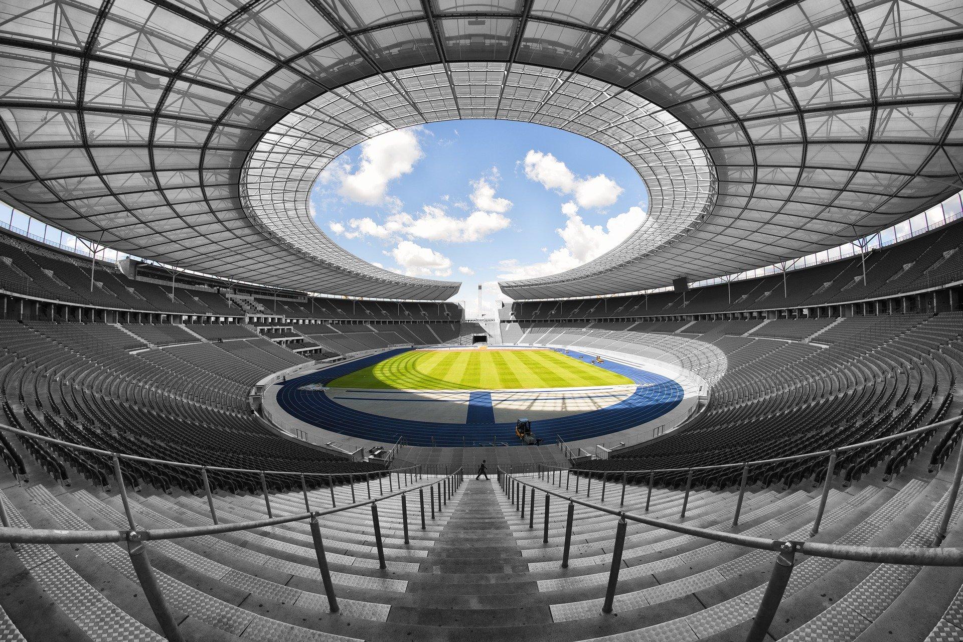 Estadio olímpico VAR